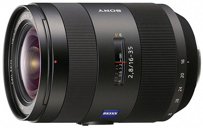 Sony Carl Zeiss 16-35 mm F 2,8 ZA Vario Sonnar T
