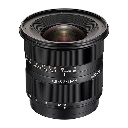 Sony DT 11-18 mm F 4,5-5,6