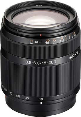 Sony DT 18-200 mm F 3,5-6,3