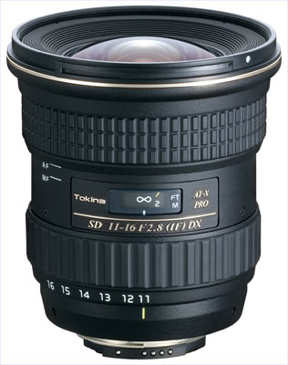 Tokina AT-X 11-16mm f/2,8 Pro DX pro Canon