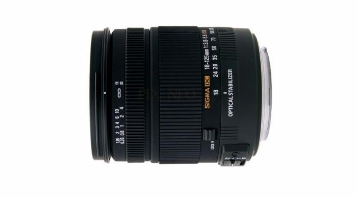 Sigma 18-125mm f/3.5-5.6 DC OS HSM Canon
